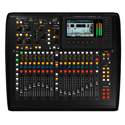 behringer x32 compact mixing console stage sound. Black Bedroom Furniture Sets. Home Design Ideas
