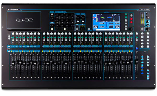 Allen Amp Heath QU 32 32 Channel Digital Mixing Console