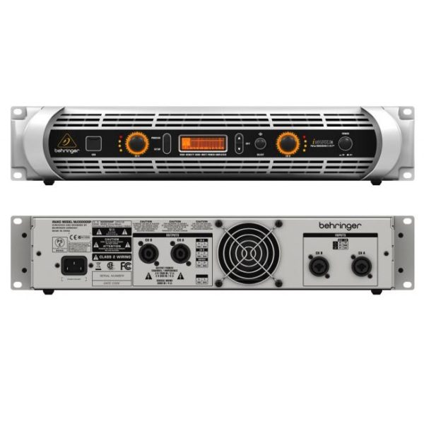 behringer nu3000 dsp power amplifier stage sound