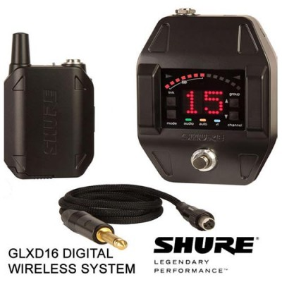 Shure GLXD16 Pedal Digital Wireless