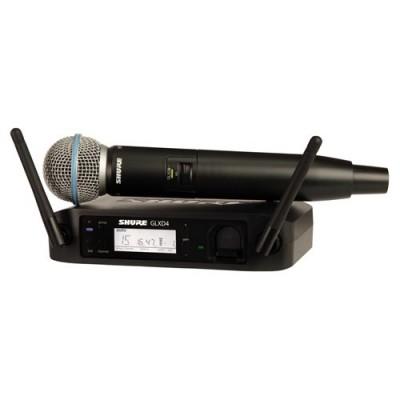 Shure GLXD24-B58 Handheld Digital Wireless