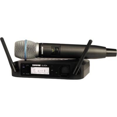 Shure GLXD24-B87 Handheld Digital Wireless