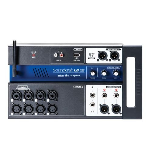Soundcraft Ui12 Compact Digital Mixer