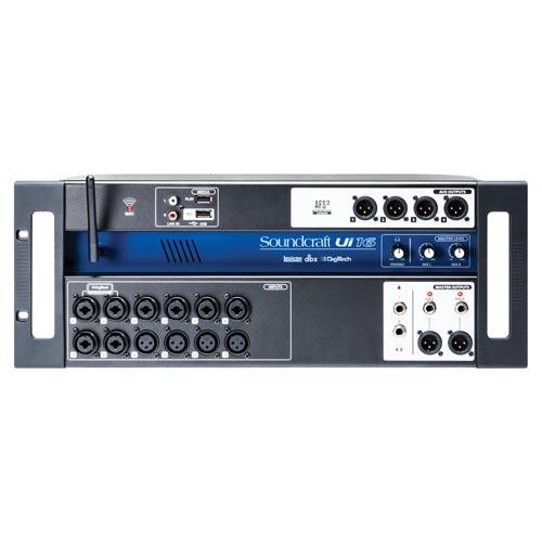 Soundcraft Ui16 Compact Digital Mixer