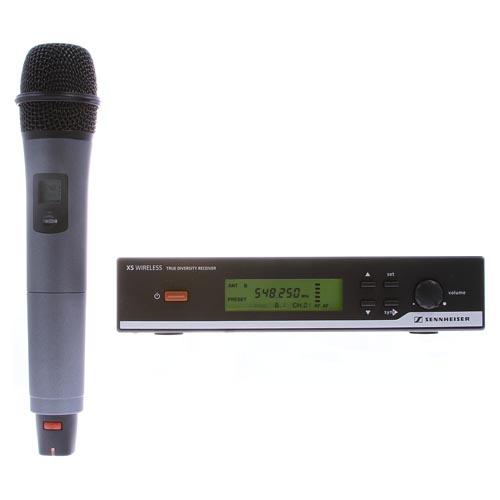 Sennheiser XSW35 Wireless Handheld System w/835