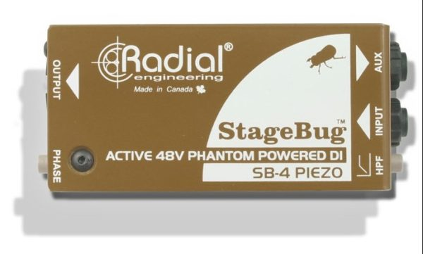 Radial SB-4 Piezo Active Direct Box