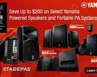 Yamaha Powered Speaker Rebate