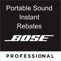 Bose Portable Sound Instant Rebates