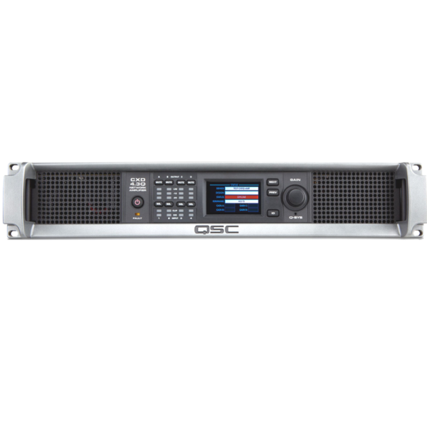 QSC CXD4 5 4 Channel Power Installation Amp w/DSP