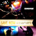 Shure Instant Holiday Rebates