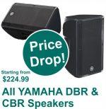 Yamaha DBR and CBR Speakers On Sale!