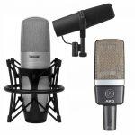 Podcast & Broadcast Microphones